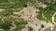 aerial ancient Kaunos city video
