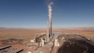 Aerial Arizona Factory Plant video