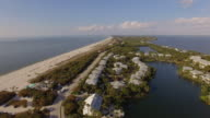 Aerial Boca Grande Florida video
