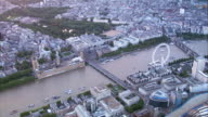 HD Aerial Central London, UK video