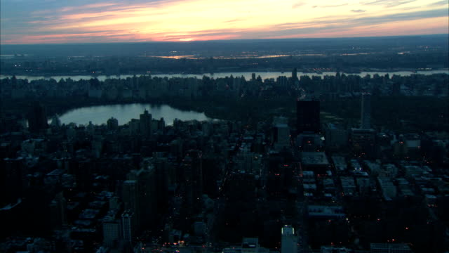 aerial central park nyc view video