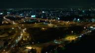 Aerial city video