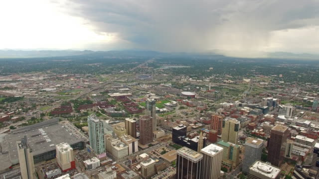 Aerial Colorado Denver video