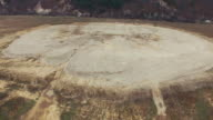 Aerial Construction of artificial reservoirs video