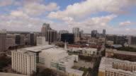 Aerial Downtown Orlando City video