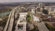 Aerial Downtown Orlando City video