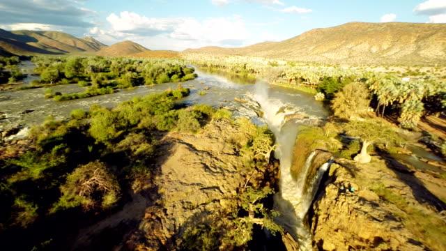 HELI Aerial Epupa Falls video