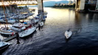 Aerial Flyby of Vancouver and Harbour video