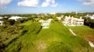 Aerial footage Florida Beach video
