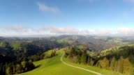 Aerial Footage of Central Switzerland called 'Entlebuch' video