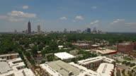 Aerial Georgia Atlanta video