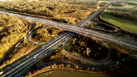 Aerial : Highway Interchange video