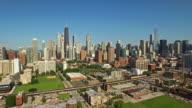 Aerial Illinois Chicago video