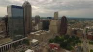 Aerial Indiana Indianapolis video