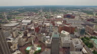 Aerial Indiana Indianpolis video