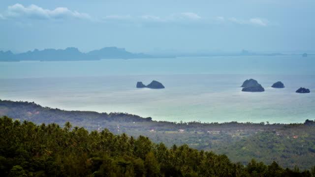 Aerial island video
