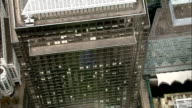 Aerial London - Close Flyover of 1 Canada Square, Canary Wharf video