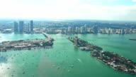 HD: Aerial Miami Skyline video