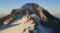 Aerial Mt Hood video
