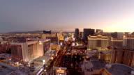 Aerial Nevada Las Vegas video