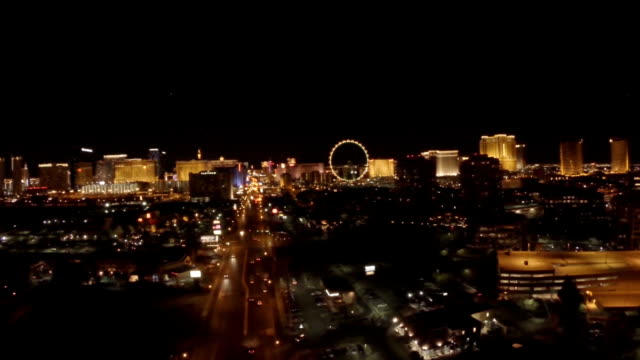 Aerial Nevada Las Vegas video