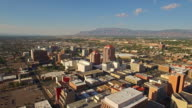 Aerial New Mexico Albuquerque. video