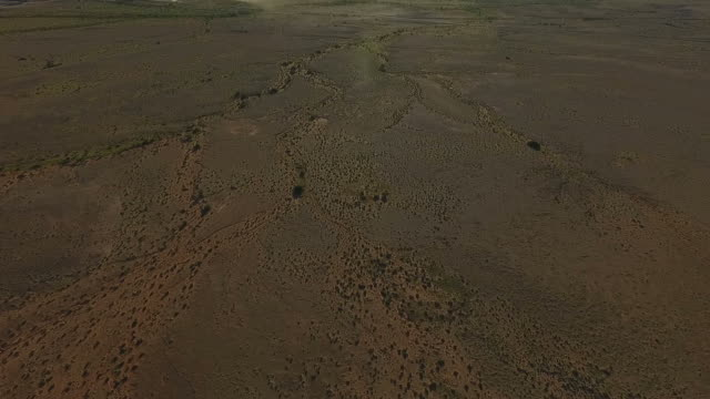 Aerial of Australian outback video