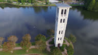 Aerial of Clock Tower video