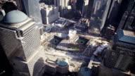 Aerial of Ground Zero video
