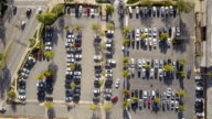 Aerial of Parking Lot video