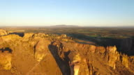 Aerial Oregon Smith Rock State Park video