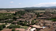 Aerial Peratallada 07 video
