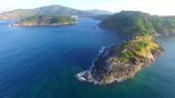 aerial photography around Phomthep cap video