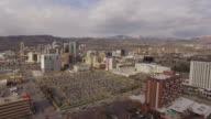 Aerial Salt Lake City, Utah video