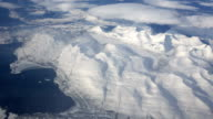 Aerial Shot Arctic Landscape video