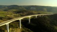 Aerial Shot Of A Viaduct video