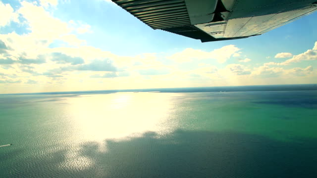 HD: Aerial Shot Of Atlantic Ocean video