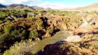 HELI Aerial Shot Of Epupa Falls video