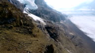 Aerial Shot Of Glacier video