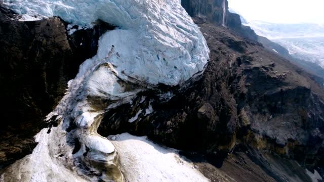 Aerial Shot Of Glacier video