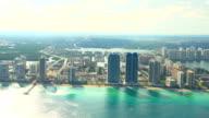 HD: Aerial Shot Of Miami Beach video