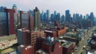 Aerial Shot Of Midtown Westside video