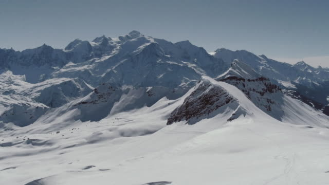 Aerial Shot of  Mont Blanc video
