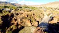 HELI Aerial Shot Of The Epupa Falls video
