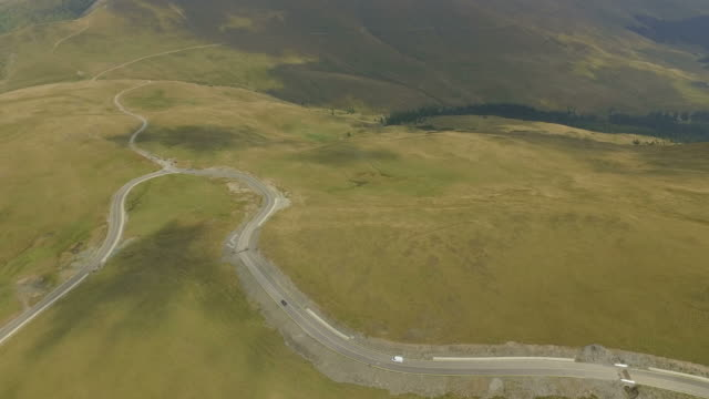 4K Aerial Shot Of Transalpina Road video