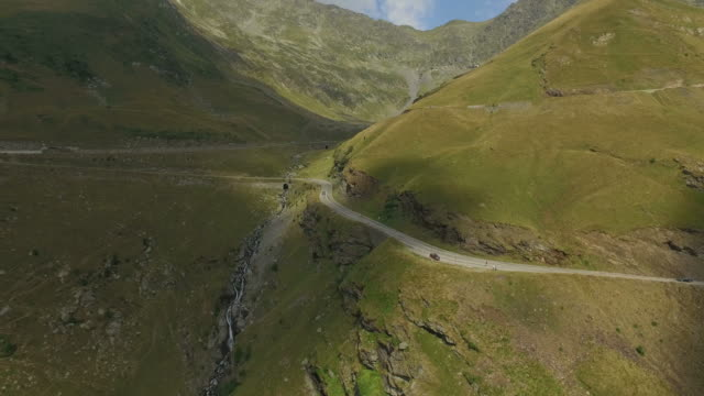 4K Aerial Shot Of Transfagarasan Road video