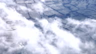 aerial shot : shooting from airplane video