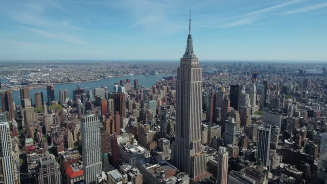 NYC Aerial Shot video