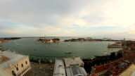 Aerial Skyline Panoramic View of Venice (Venezia) video