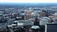 Aerial timelapse view of San Antonio, Texas video
